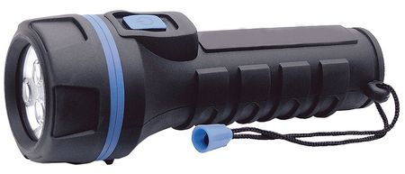 WESTWARD LED 16 Lumens Industrial Black Handheld Flashlight