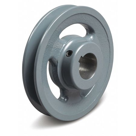 "1"" Fixed Bore 1 Groove V-Belt Pulley 6.25"" OD"
