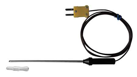 Lance Tip Immersion Temp Probe, Type K