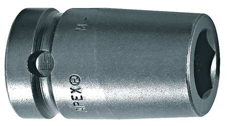 Impact Socket, 1/2 In Dr, 1/2 In, 6 pt