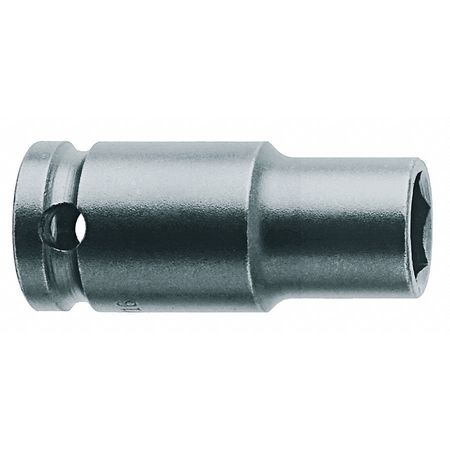 Impact Socket, 1/2 In Dr, 13mm, 6 pt
