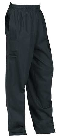 Unisex Chef Pants,  M,  Black