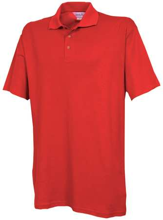 Unisex Knit Shirt,  M,  Metro Red