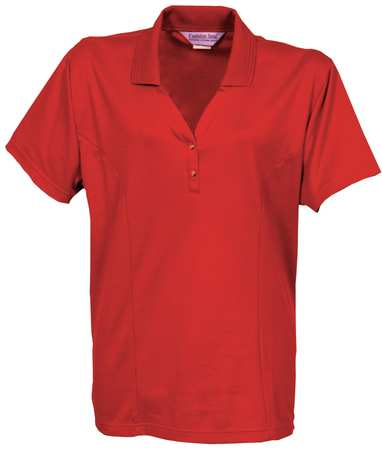 Women's  Knit Shirt,  4XL,  Metro Red