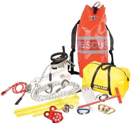 Rescue System, 330 lb, Kernmantle, 3100 lb.