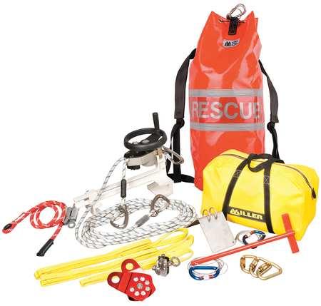 Rescue System, 275 ft., 330 lb., 3100 lb.
