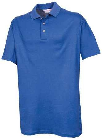Unisex Knit Shirt,  S,  Cobalt