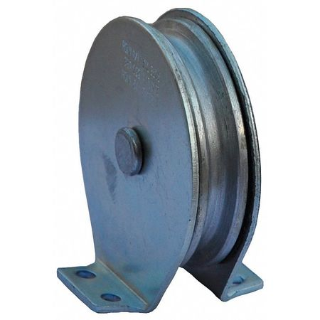 Pulley Block, Wire Rope, 1550 lb Load Cap.