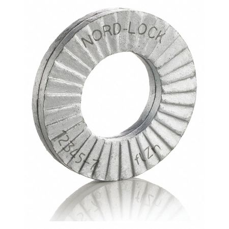 "1/2"" x 1.000"" OD Steel Delta Protect Finish Lock Washers,  100 pk."