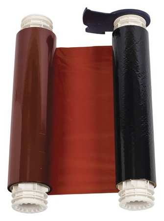 Ribbon Cartridge, Black/Red, 8-4/5 In. W