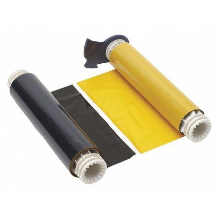 Ribbon Cartridge, Black/Yellow, 200 ft. L