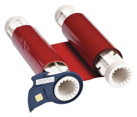 Ribbon Cartridge, Red, 200 ft. L