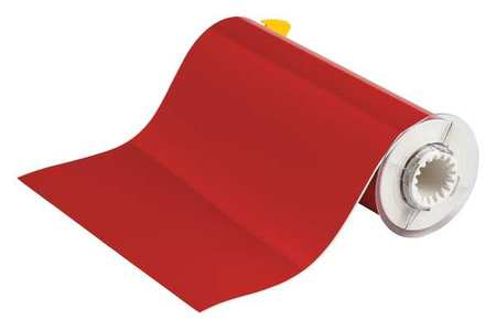 Tape, Red, 50 ft. L, 10 In. W