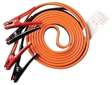 Booster Cable, SD, 6 AWG, 16 Ft, Std Jaw