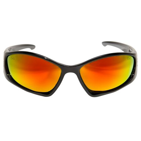 5c9f93a2dd Edge Eyewear Baretti Safety Glasses With Black Frame And Red Scratch ...
