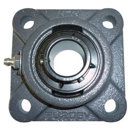 "Flange Bearing, 4-Bolt, Ball, 3"" Bore"