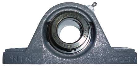 "Pillow Block Bearing, Ball, 1-3/16"" Bore"
