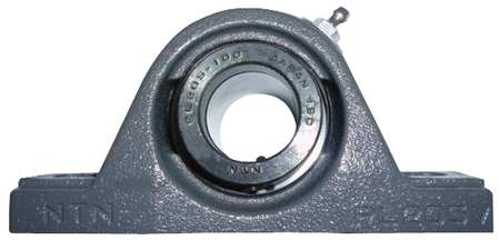 "Pillow Block Bearing, Ball, 1-1/8"" Bore"