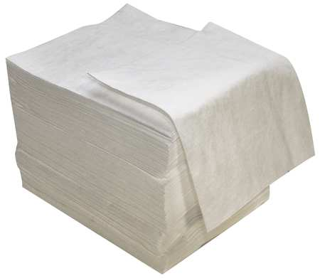 Absorbent Pads, 18 In. W, 16 In. L, PK100