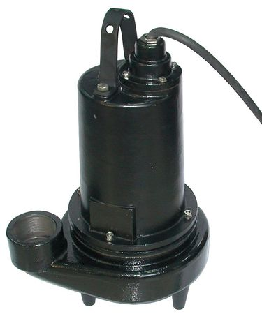 "5 HP 3"" Manual Submersible Sewage Pump 460V"