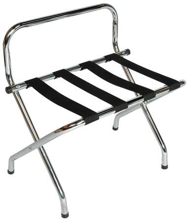 Luggage Rack, 26 1/2 H x 16 D In., PK6