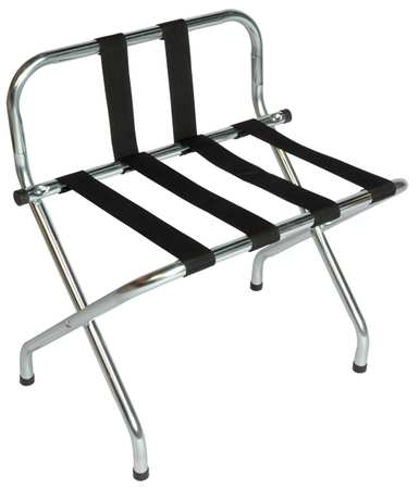 Luggage Rack, 26 1/2 H x 16 D x In., PK6