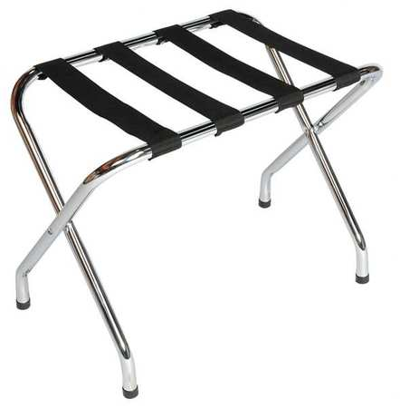 Luggage Rack, 20 H x 16 1/2 D In., PK6