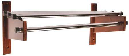 Coat Rack, Wood, 12 1/2 x12 3/4x 30In.