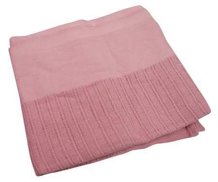 Thermal Blanket,  Twin,  66x90 In.,  Rose