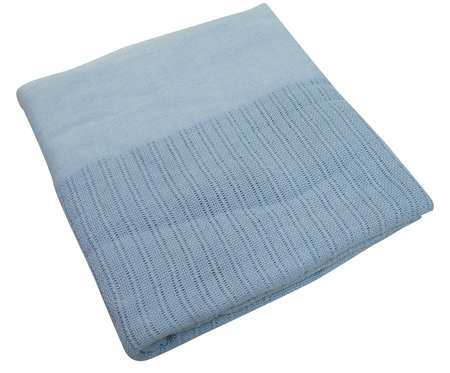 Thermal Blanket,  Twin,  66x90 In.,  Blue