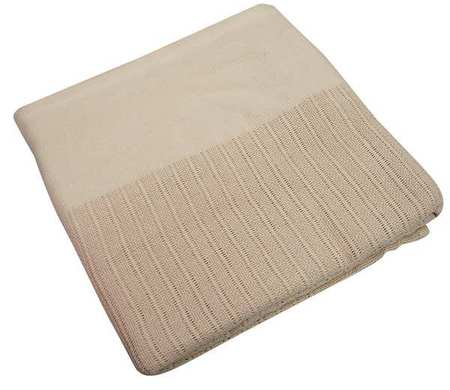 Thermal Blanket,  Twin,  66x90 In.,  Beige