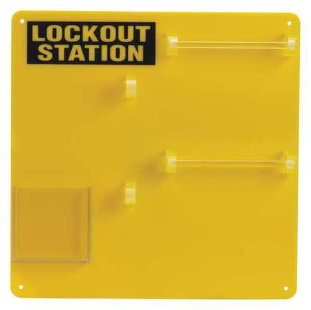 Lockout Board, Unfilled, Polycarbonate