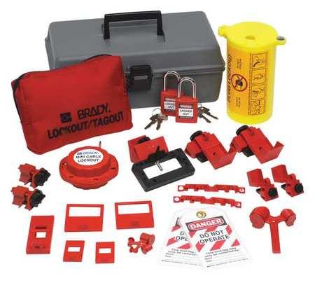 PortableLockout Kit, Filled, Electrical, 21