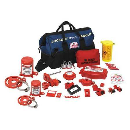 Portable Lockout Kit, Electrical/Valve, 17