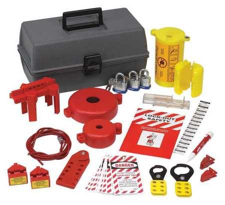 PortableLockout Kit, Filled, Electrical, 51