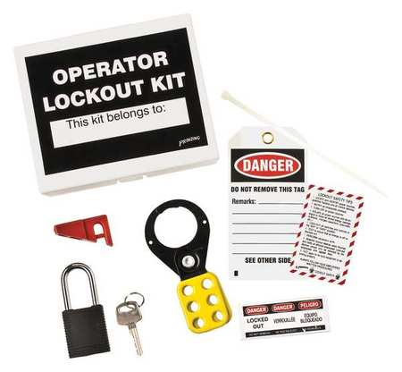 Portable Lockout Kit, Filled, Electrical, 6