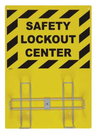 Lockout Kit Sign Rack