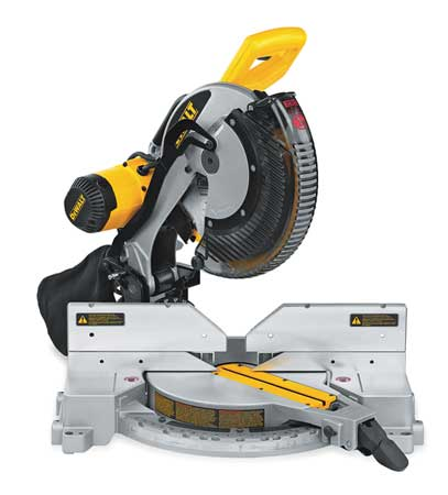 "15 Amp,  12"" dia. Compound Miter Saw,  Double Bevel,  120 V"