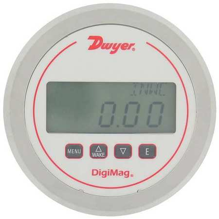 Digital Gauge, Differential, 10 In WC