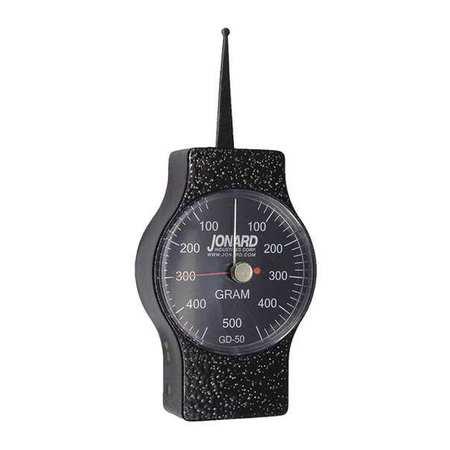 Dynamometer Gauge, Dial, 60-500g