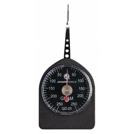 Dynamometer Gauge, Dial, 30-250g