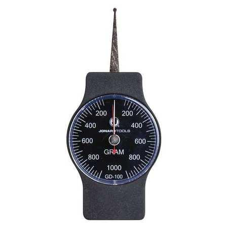 Dynamometer Gauge, Dial, 100-1000g