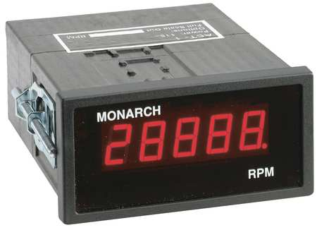 Panel Tachometer, 1 Pulse per Revolution