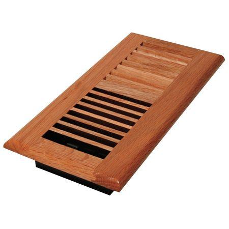 4x8 Baseboard Register