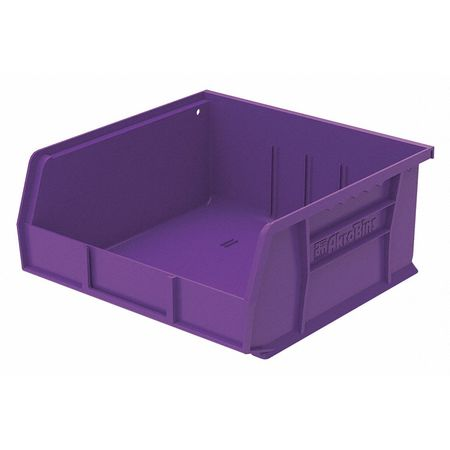 Hang/Stack Bin, 10-7/8 x 11 x 5,  Purple