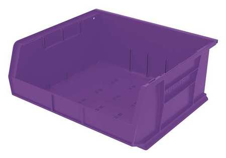 Hang/Stack Bin, 7x16 1/2x14 3/4,  Purple
