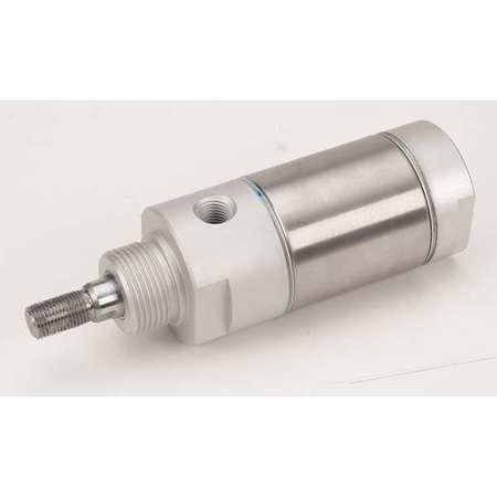 "2"" Bore Round Double Acting Air Cylinder 1"" Stroke"
