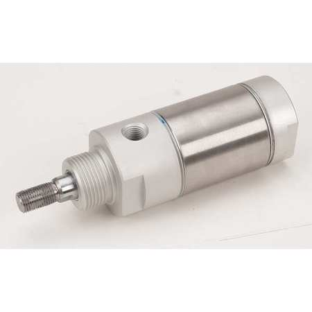 "2"" Bore Round Double Acting Air Cylinder 6"" Stroke"