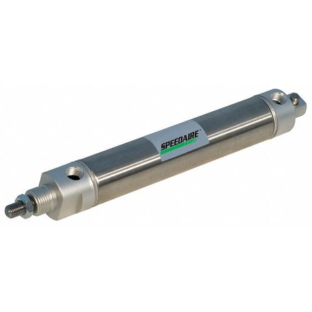 "1-1/4"" Bore Round Double Acting Air Cylinder 10"" Stroke"