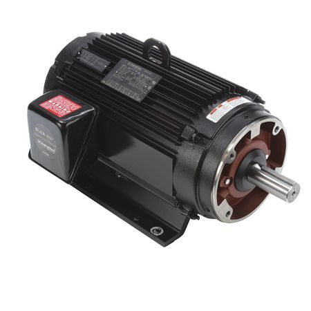 Vector Motor, 33.7  lb-ft, 7.5 HP, 230/460V